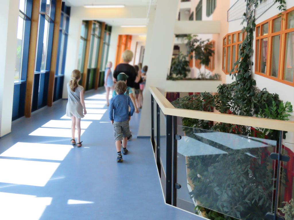 Een groene speurroute in ziekenhuis Isala