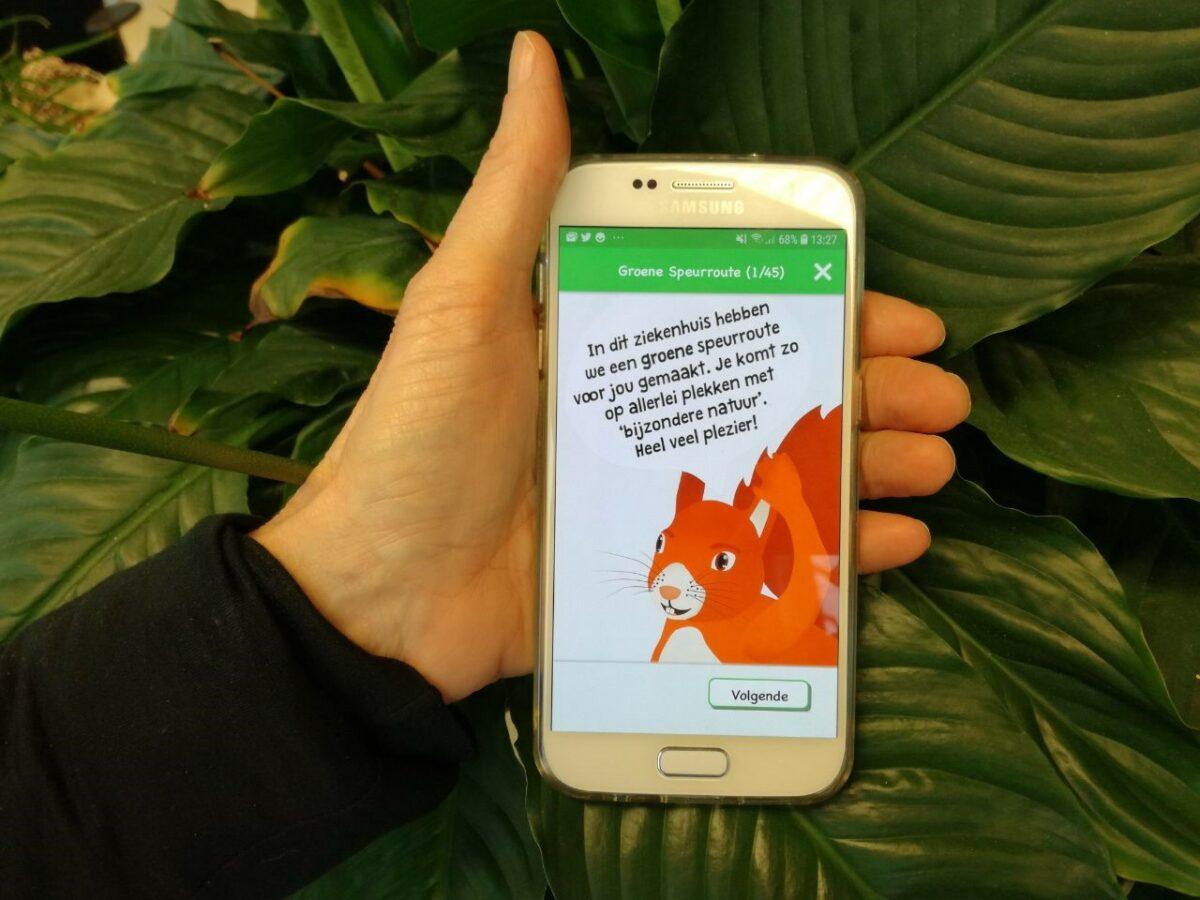 Isala en Natuur en Milieu Overijssel lanceren 'Groene speurroute' app