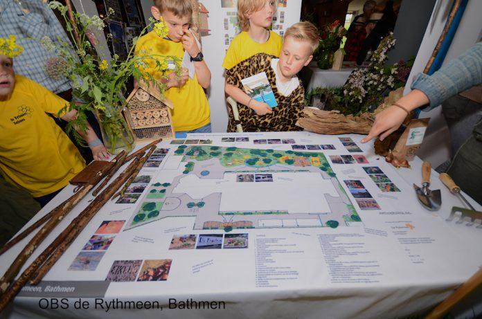 OBS de Rythmeen krijgt het groenste schoolplein van Overijssel