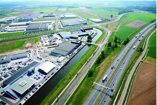 Initiatiefgroep Hessenpoort Natuurlijk vergroent bedrijventerrein in Zwolle