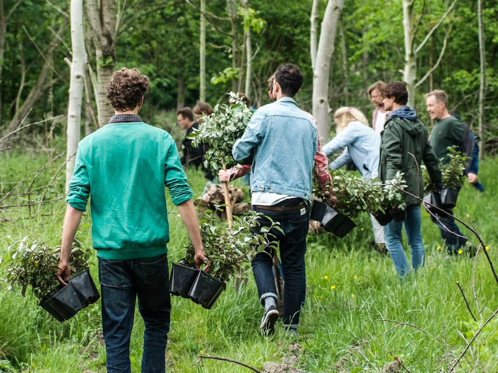 GroenBezig.nl: hét platform voor groen vrijwilligerswerk