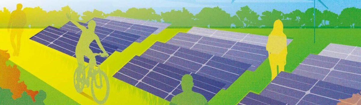 Energietuin van de toekomst combineert duurzame energieopwekking, natuur én landschap