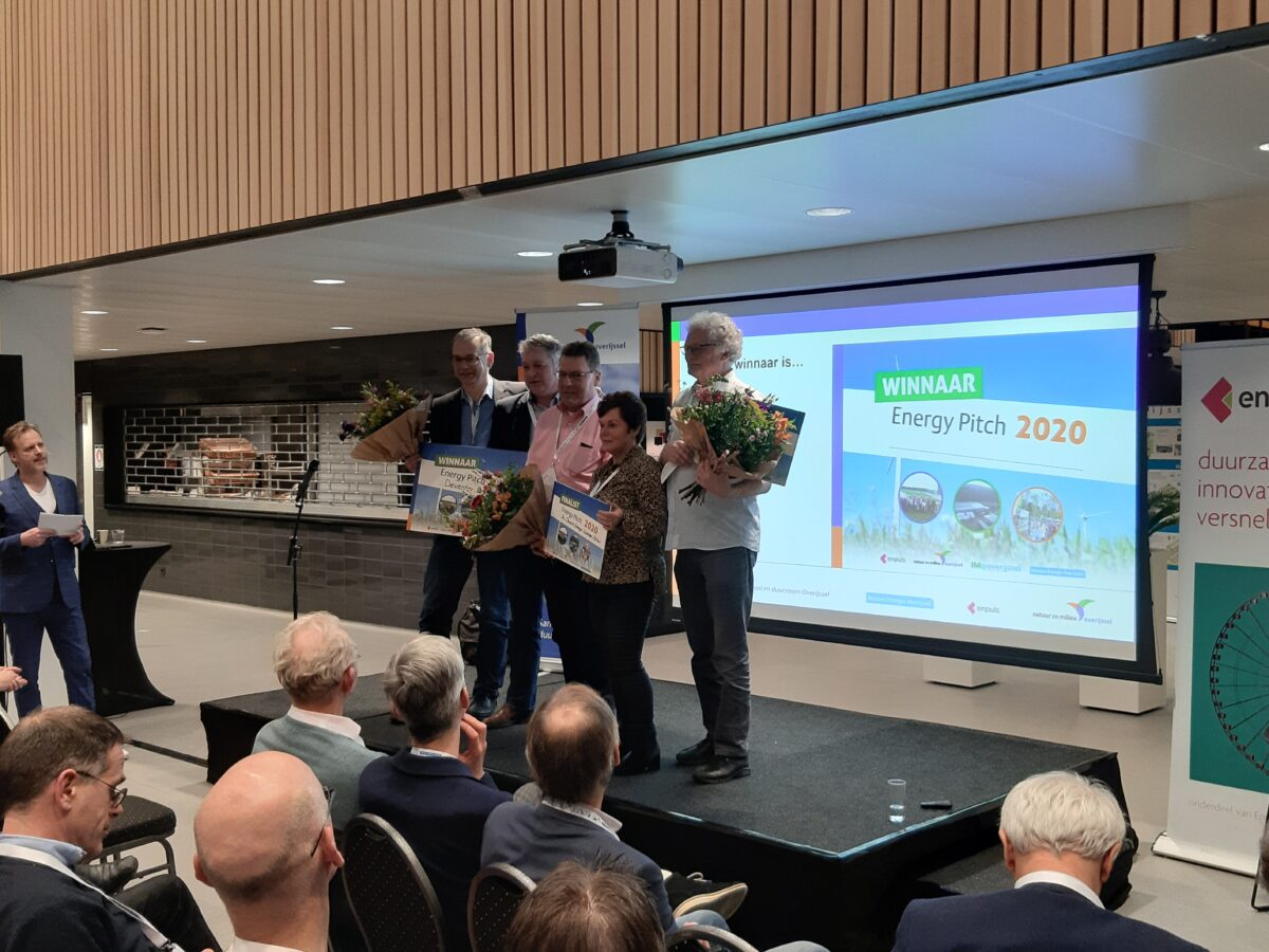 Deventer Energie wint de Energy Pitch 2020