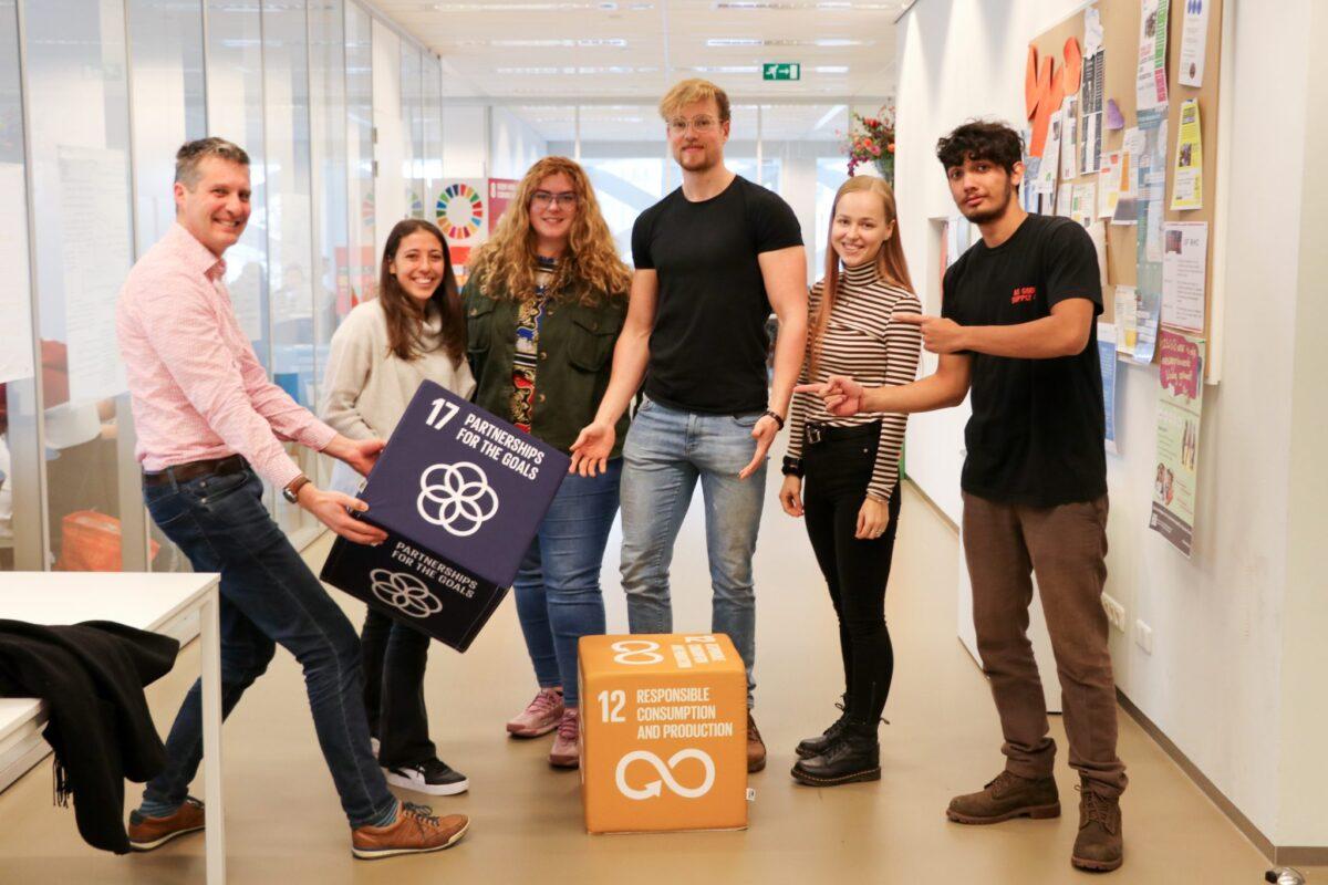 Studenten meten bijdrage WaardeRing aan duurzame doelen VN