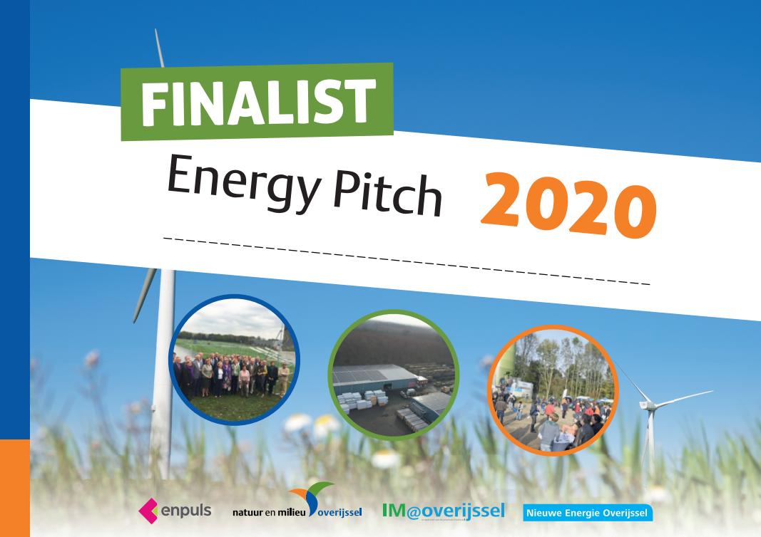 Even voorstellen: de finalisten van de Energy Pitch 2020