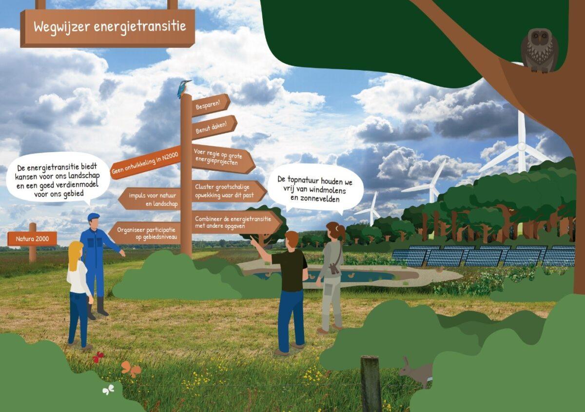 Groene organisaties pleiten voor groene ontwerpprincipes in de Regionale Energiestrategie