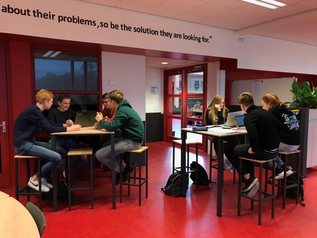Leerlingen van Het Bonhoeffer College Enschede helpen Twence aan nieuwe ideeën