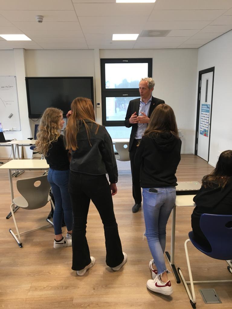 Leerlingen van Agnieten College Nieuwleusen helpen Gemeente Dalfsen aan nieuwe ideeën